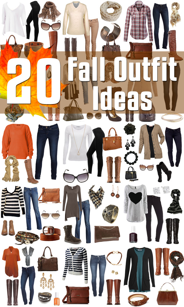 Fall Fashion 2016 - 20 Fall Outfit Ideas