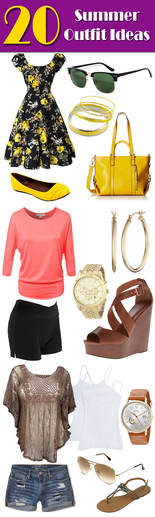 Summer Fashion 2017 - 20 Outfits to Wear This Summer