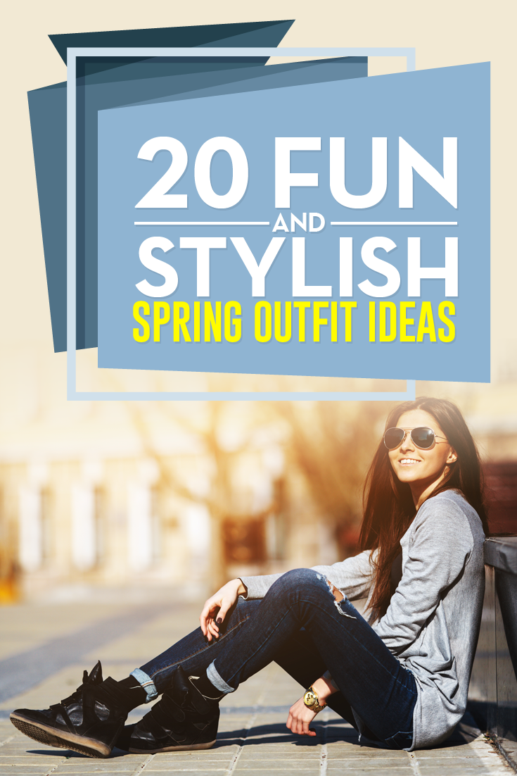 20 Fun and Stylish Spring Fashion 2017 Outfits