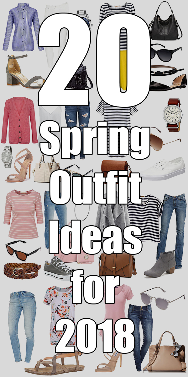 20 Spring Outfit Ideas for 2018