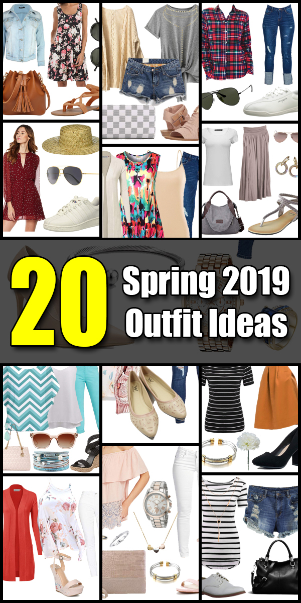 20 Bright and Sunny Spring Fashion 2019 Outfit Ideas - Roxyplex