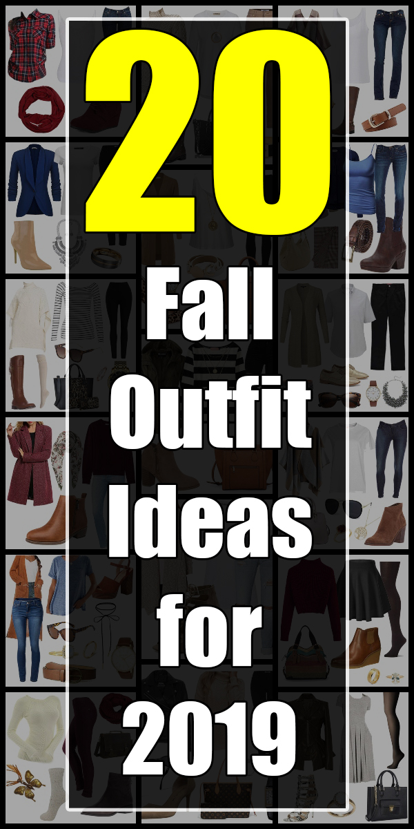 20 Cool and Fun Fall Fashion 2019 Outfits - Roxyplex #fallfashion #fallfashiontrends